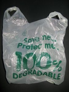 You think your plastic bags is biodegradable? Think twice …