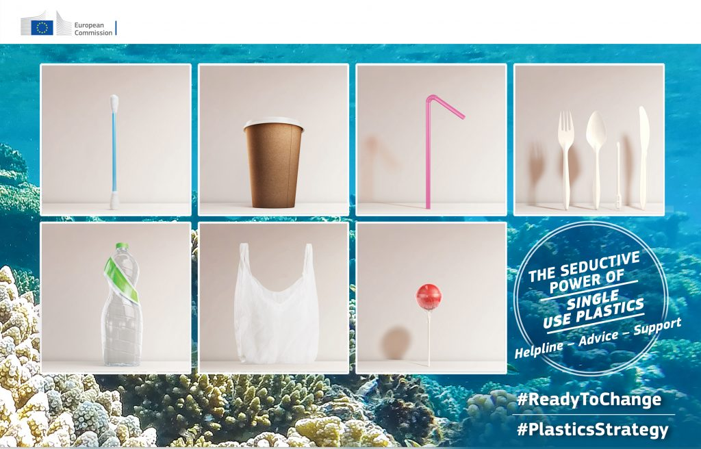 Single-use plastics: ambitious agreement in EU to reduce marine litter